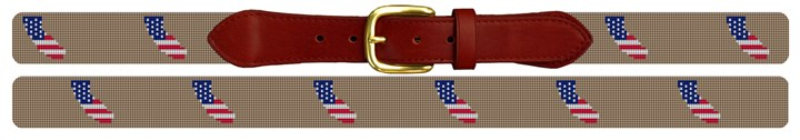 California State Needlepoint Belt