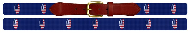 Illinois State Needlepoint Belt
