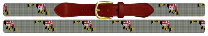 Maryland State Needlepoint Belt