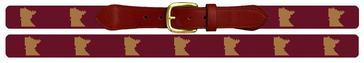 Minnesota State Needlepoint Belt