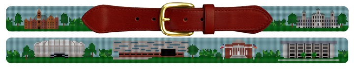 Syracuse University Campus Needlepoint Belt