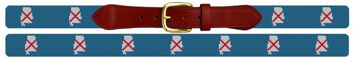 Alabama State Needlepoint Belt