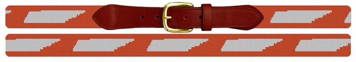 Tennessee State Needlepoint Belt