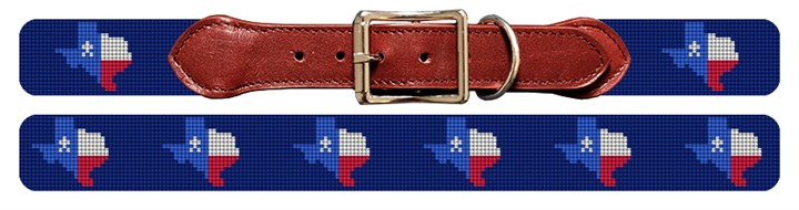 Texas State Needlepoint Dog