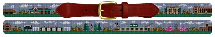 East Lansing Michigan Needlepoint Belt