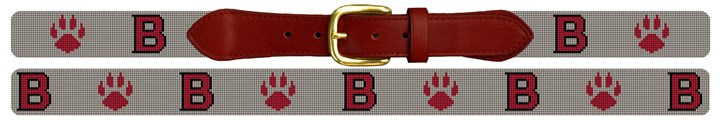 Bates College Bobcats Needlepoint Belt Canvas