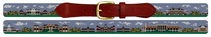 Baltimore Campus Landscape Needlepoint Belt Canvas