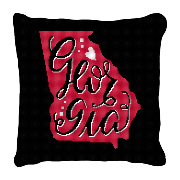Georgia Needlepoint Pillow