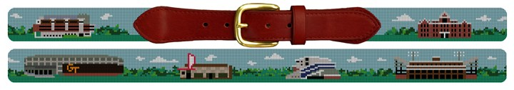 Atlanta Landscape Needlepoint Belt
