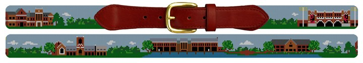 Richmond Virginia Landscape Needlepoint Belt