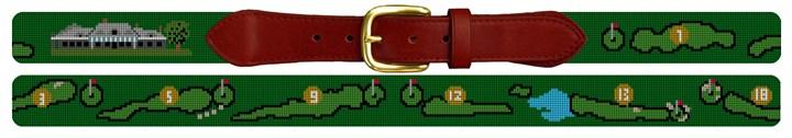 Misquamicut Golf Course Needlepoint Belt