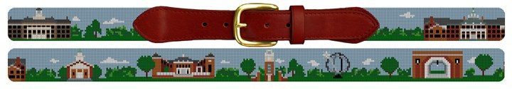 Oxford Ohio Landscape Needlepoint Belt Canvas