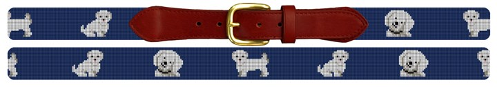 Maltese Needlepoint Belt