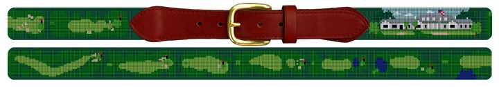 Country Club of Columbus Needlepoint Belt Canvas
