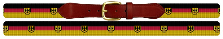 German Flag Needlepoint Belt Canvas