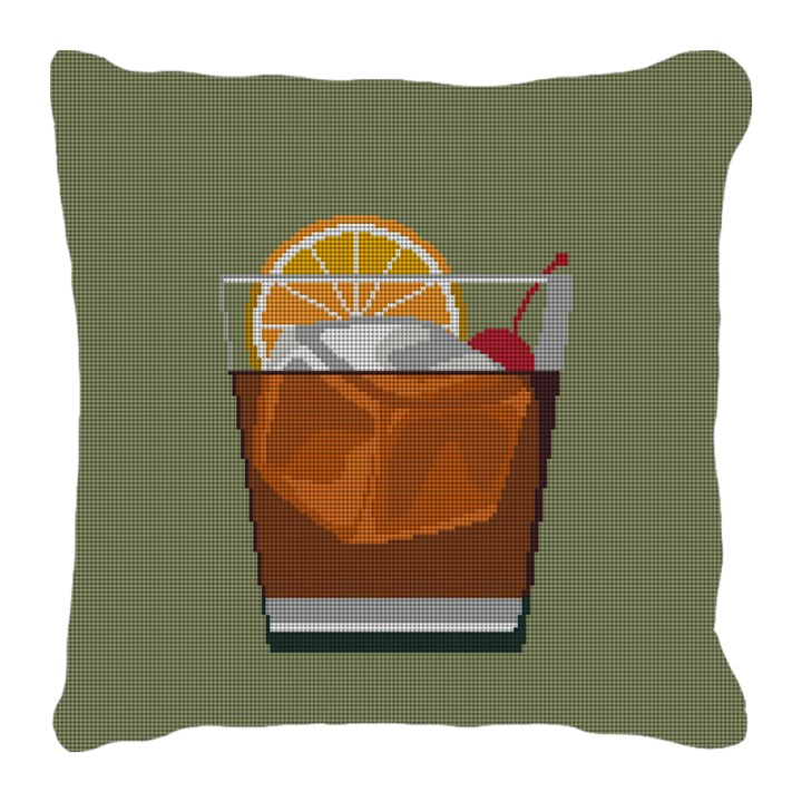 Old Fashioned Needlepoint Pillow