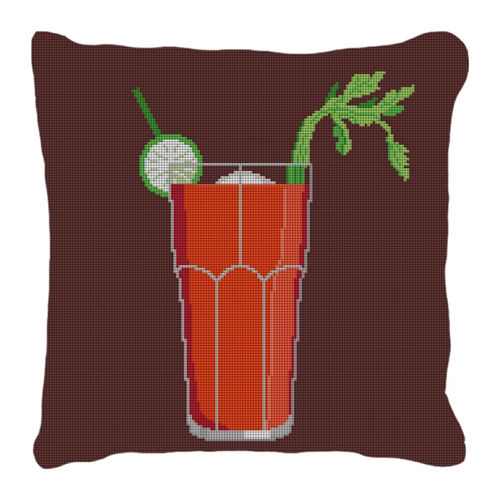 Bloody Mary Needlepoint Pillow
