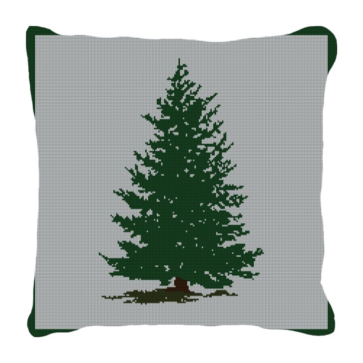 Always Evergreen Needlepoint Pillow