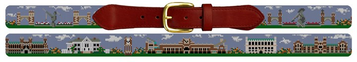 Norman Oklahoma Landscape Needlepoint Belt Canvas
