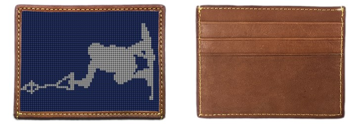 Wakeboard Needlepoint Card Wallet Canvas