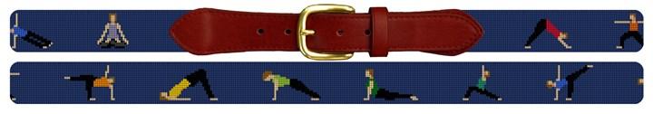 Yoga Needlepoint Belt