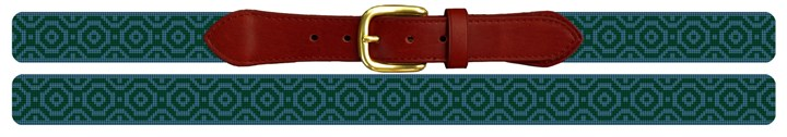 Atlas Needlepoint Belt