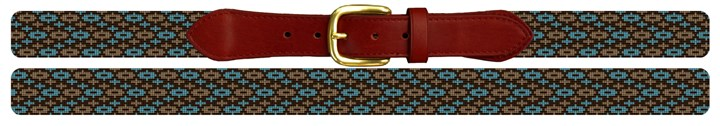 Gaea Needlepoint Belt