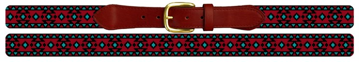 Ceres Needlepoint Belt