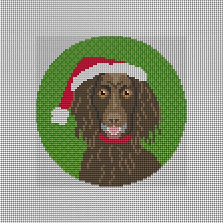 Boykin Spaniel Needlepoint Ornament Canvas
