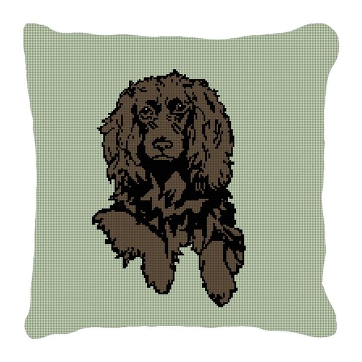 Boykin Spaniel Needlepoint Pillow
