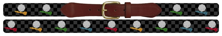 Tee Time Needlepoint Belt Canvas