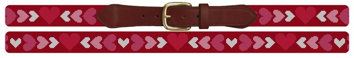 Valentine Needlepoint Belt Canvas