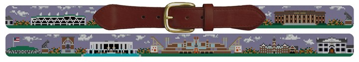 Clemson South Carolina Needlepoint Belt Canvas