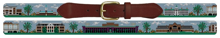 Hanover New Hampshire Needlepoint Belt Canvas