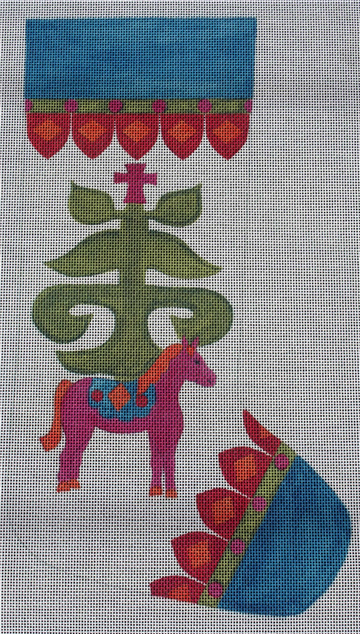 Belle Noel Kiev Needlepoint Stocking Kit