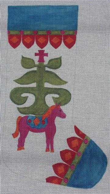 Belle Noel Kiev Needlepoint Stocking Canvas